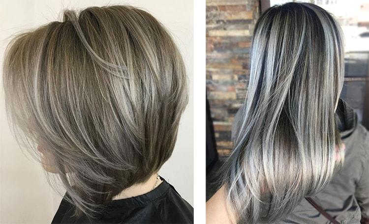 Цвет волос ледяной блонд