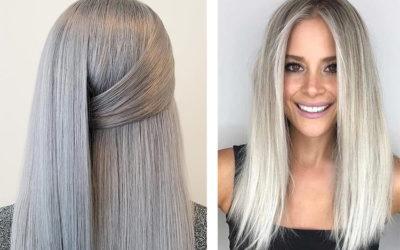 Пепельный блонд — холодный цвет волос (фото)