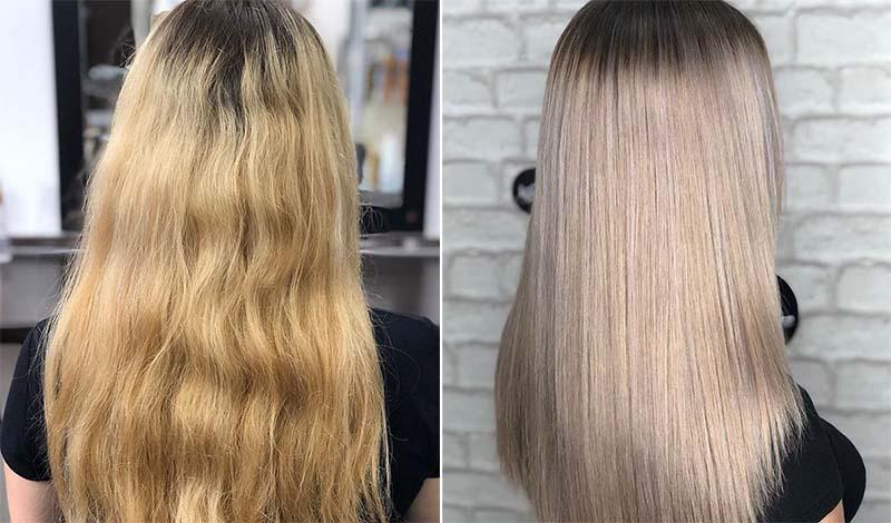 Как сделать холодный блонд в домашних условиях