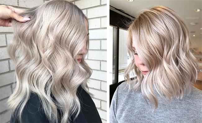 Пепельно розовый цвет волос краска