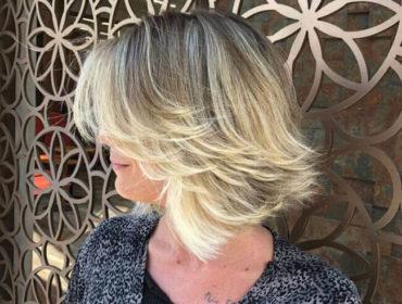 Каскад на короткие волосы: 2020 с челкой, без челки (фото)
