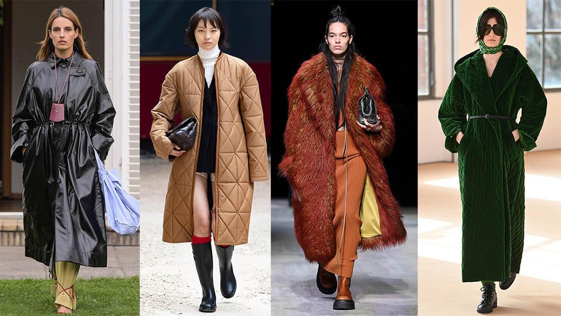 Верхняя одежда Осень Зима 2021-2022