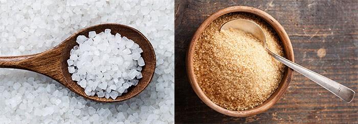 скраб для кожи головы из соли